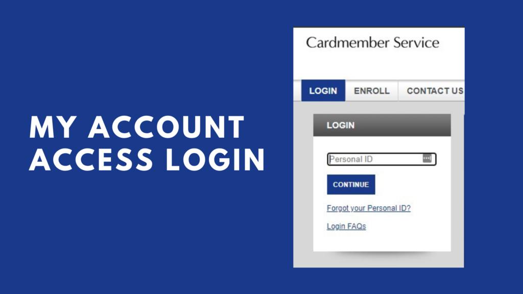 my account access login