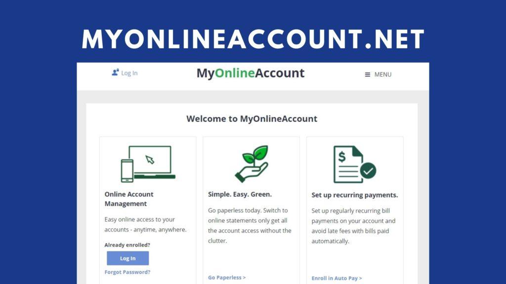 myonlineaccount net